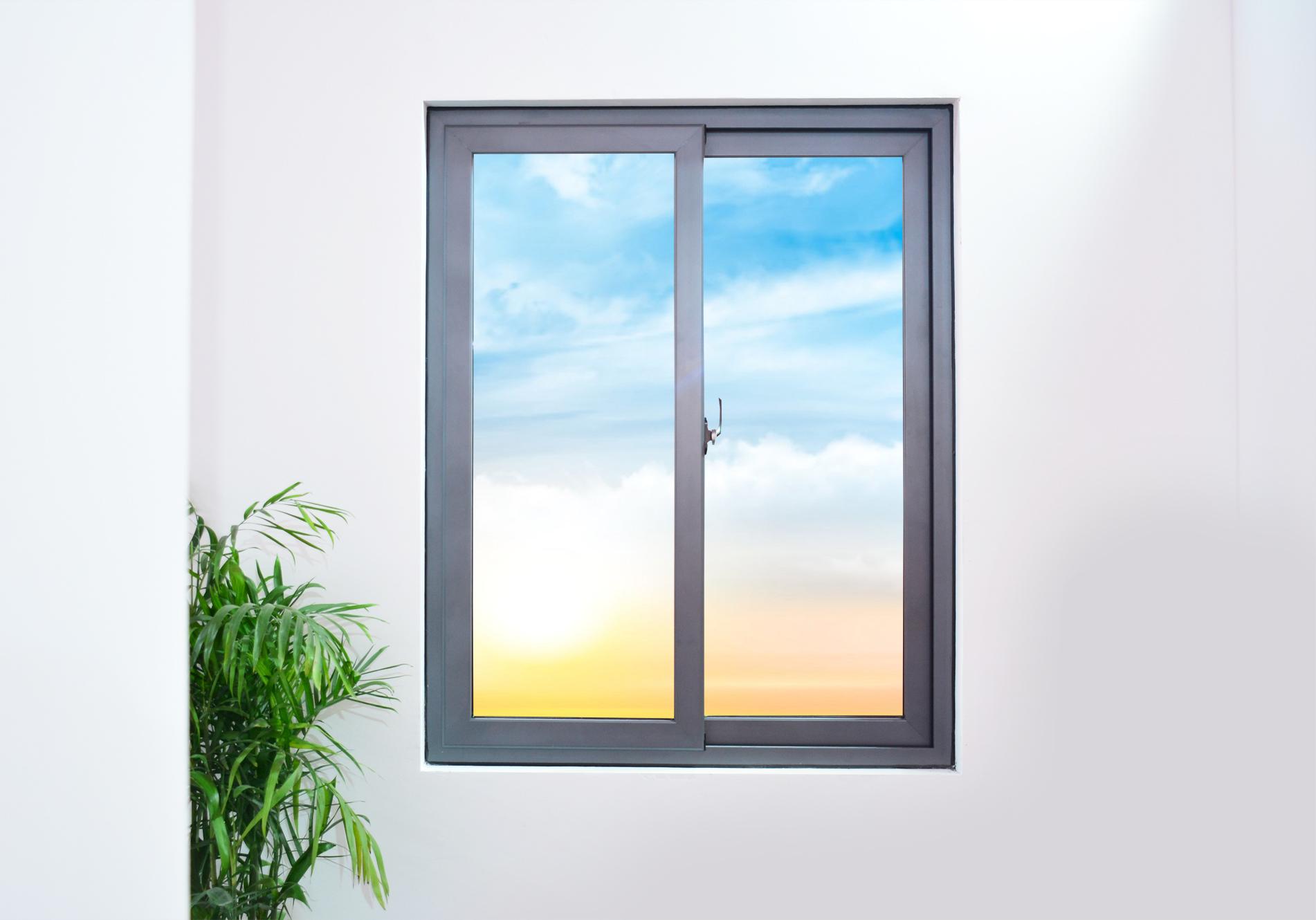 Cửa sổ nhôm kính trượt thiết kế sang trọng cho mọi căn nhà